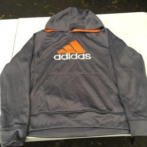 YL adidas hooded sweatshirt
